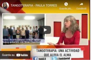 Francesca Fedrizzi a una trasmissione della Televisione Pubblica Argentina parla della Tangoterapia