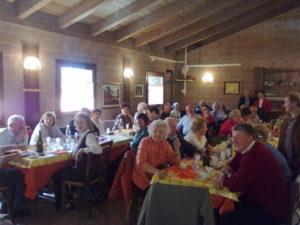2011 aprile – Pranzo sociale di primavera a Villa Santina