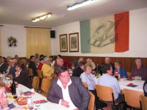 2010 dicembre – Pranzo annuale a Vissandone nel covo degli Alpini